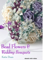 katie dean bead flowers wedding