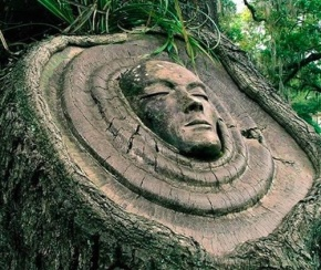 Giant Cabochons: Tree Spirit Carvings by Keith Jennings
