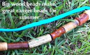 Practical Wood Ranger Beads help you remember to stay hydrated