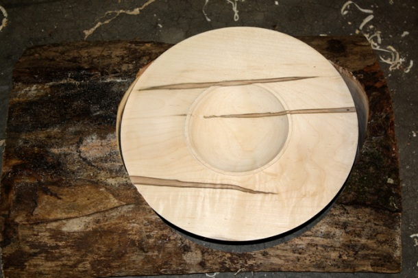 AMbrosia Maple: The log & the platter
