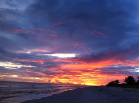 Sunset on Sanibel Island