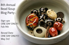 8th Annual Bead Soup Blog Party Announced